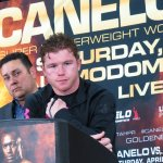 Canelo Trout Post Fight Press Conference Interviews and Photos
