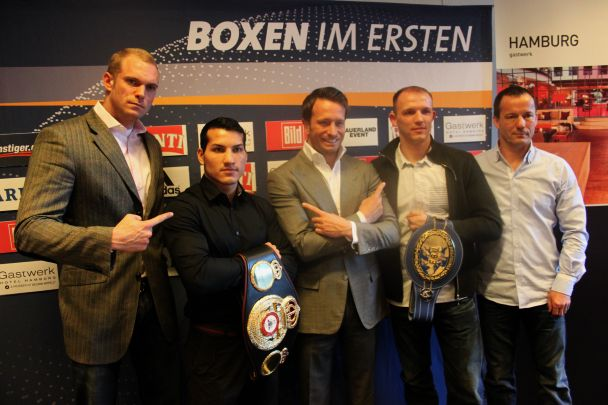 Braehmer vs. Averlant & Culcay vs. Pitto on April 27th in Hamburg, Germany