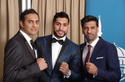 A knockout success! Amir Khan helps raise over £83,000 for Typhoon Haiyan Appeal