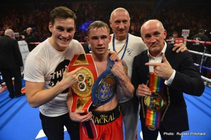 Carl Frampton wants Leo Santa Cruz fight