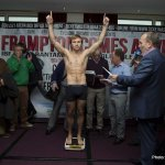 Weigh In Photos: Carl Frampton vs  Jeremy Parodi