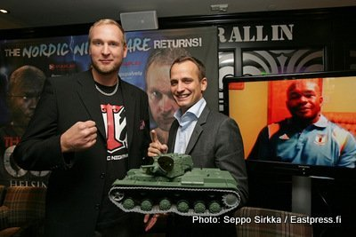 "ReleaseHelsinki Helenius vs Williams press conference – The Tank: ""I´ll bring sunshine to Helsinki"