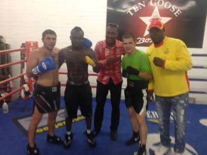 Gyan promises Emmanuel Tagoe world title fight in Ghana