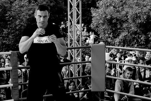Klitschko vs. Charr open work out photos