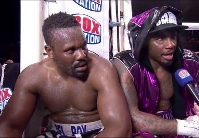 Dereck Chisora Takes Away Malik Scott's Unbeaten Record With Controversial 6th round Count Out