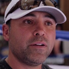 "Oscar De La Hoya making a lot of pre fight predictions ahead of ""The One!"""