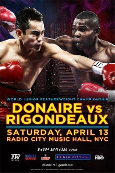 donaire9 THIS SATURDAY! Donaire v Rigondeaux Tix Go On Sale at Noon ET