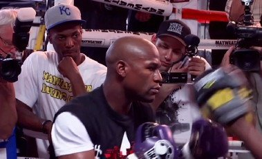 "floyd434 Floyd Mayweather Jr. vs. Manny Pacquiao: ""It's just business"""