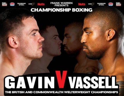 Gavin and Vassell make weight for Saturdays fight