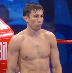 Golovkin defends his WBA 160 lb title against Proksa on Saturday
