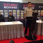 Barker vs Sturm   Weigh In Video