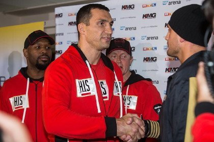 Fight week presser Klitschko vs. Pianeta