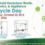 Get rid of hazardous waste this Saturday, Oct. 22