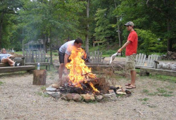 A serious campfire!