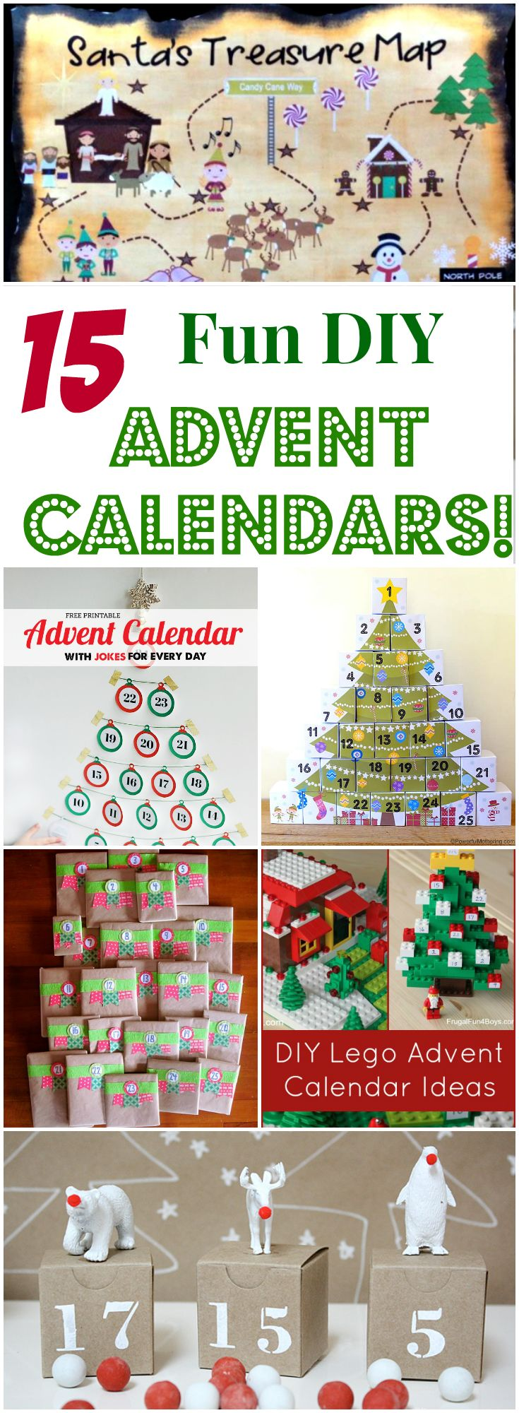 Diy Childrens Advent Calendar : Fun diy advent calendars for kids letters from santa