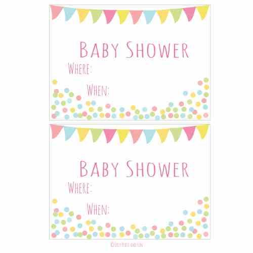 Medium Crop Of Baby Shower Invitations
