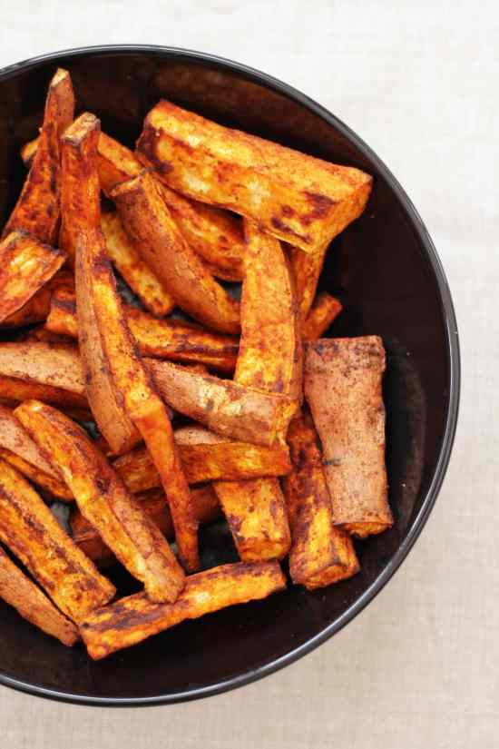 Homemade Sweet Potato and Smoked Paprika Chips - Easy ...