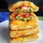 Avocado, Cream Cheese, and Salsa Pockets