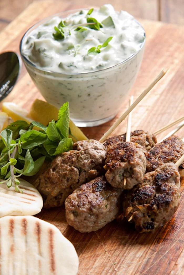 Lamb Kofta Kebabs Recipe — Dishmaps