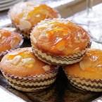 Glazed Orange and Almond Cakes