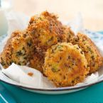 Crunchy Tuna & Spinach Patties