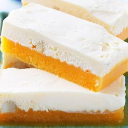Peach Macadamia Ice Cream Bars - Healthy Sweet Snacks