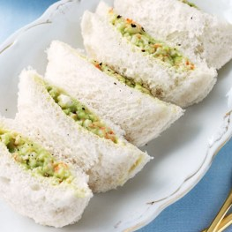 Avocado and Prawn Pillows - Party Food Ideas