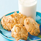 White Choc Macadamia Cookies