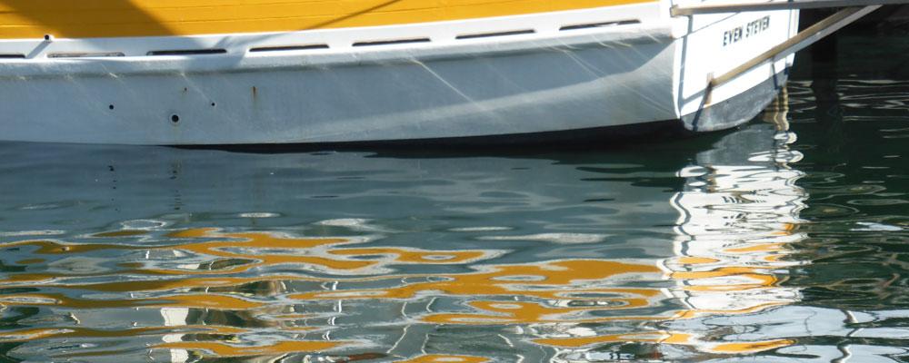 Reflective Tasmanian Harbour Waters