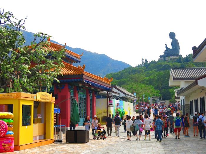 Ngong Ping Village Street