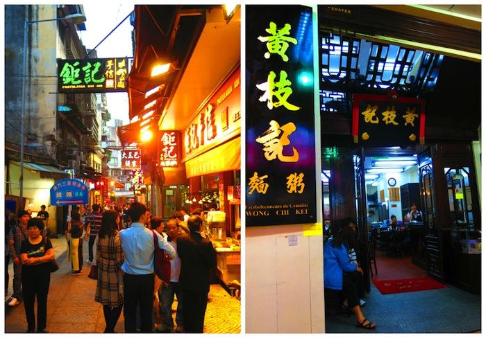 Senado Square Street Wong Chi Kei