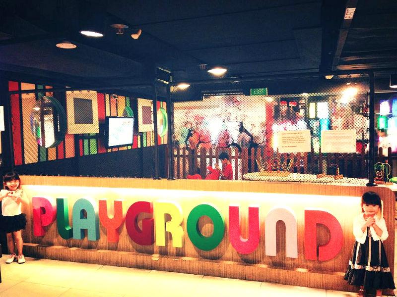 Buffet Town Playground