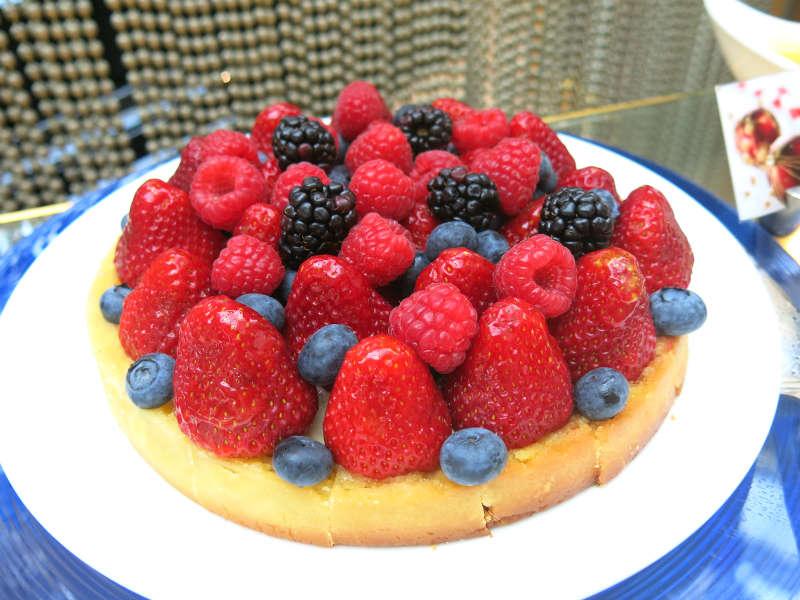 Greenhouse Lunch Buffet Cake