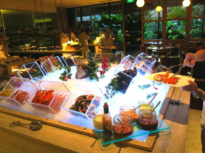 Melts the World Cafe, Mandarin Oriental Singapore