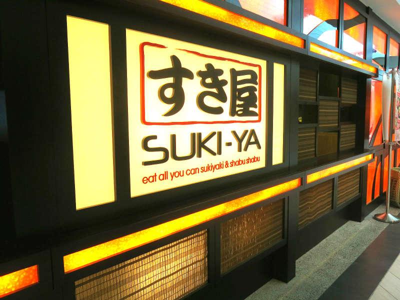 Suki Ya at Marina Square