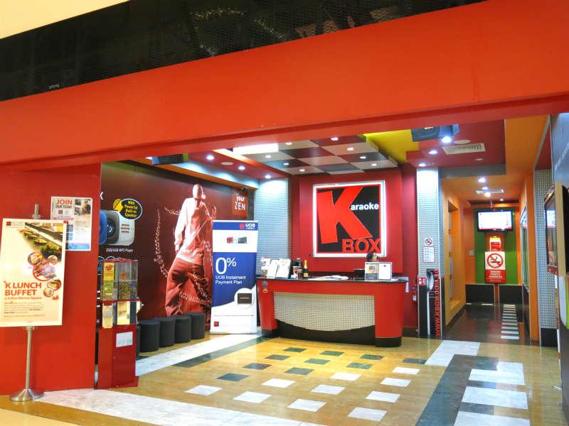 kbox at marina square mall