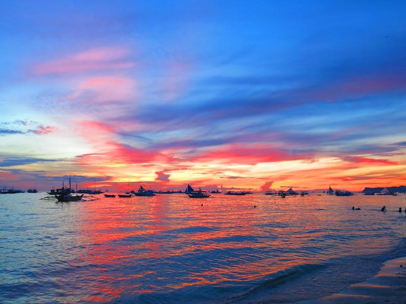 Boracay Beautiful Sunset