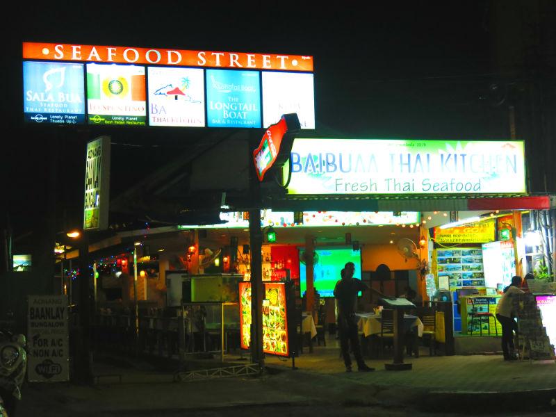 Krabi Seafood Street