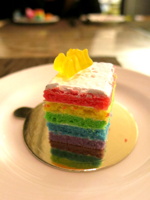 Seasonal Tastes Westin Rainbow Cake