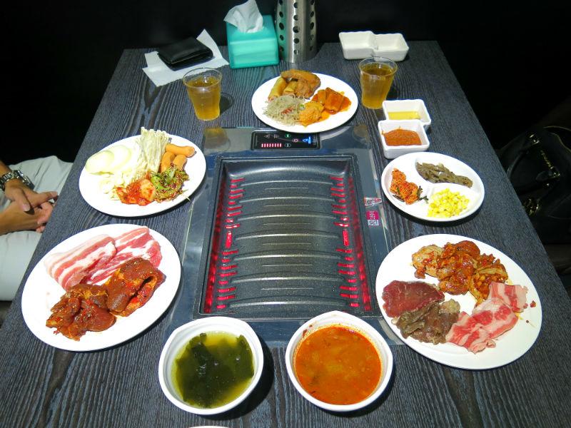 im kim korean bbq feast