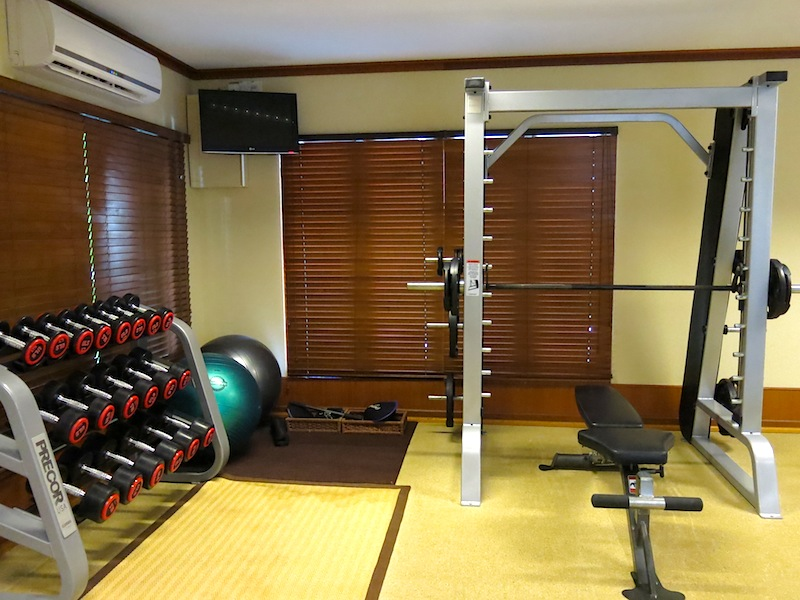 Baros Maldives Gym 1