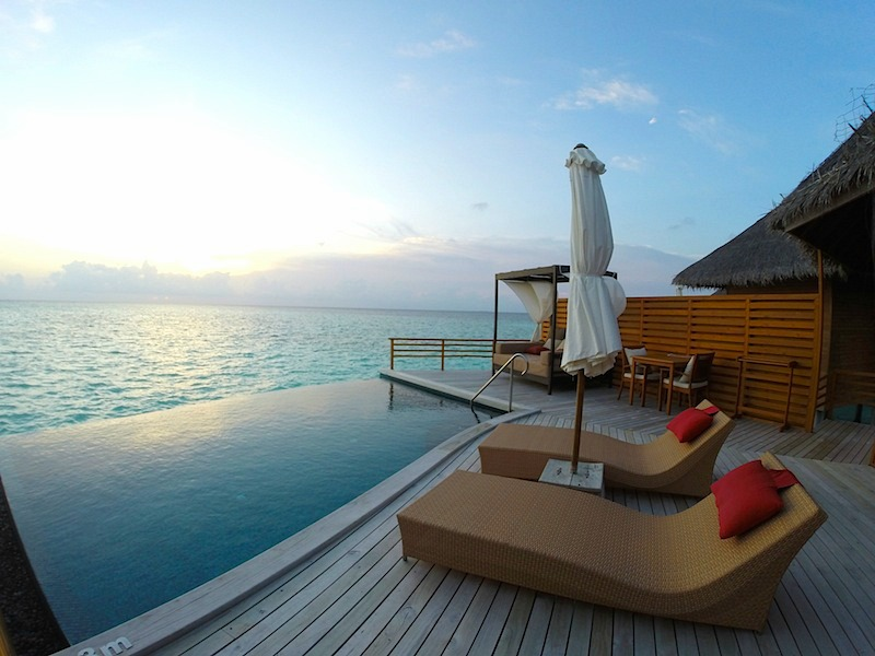 Baros Maldives Pool Water Villa