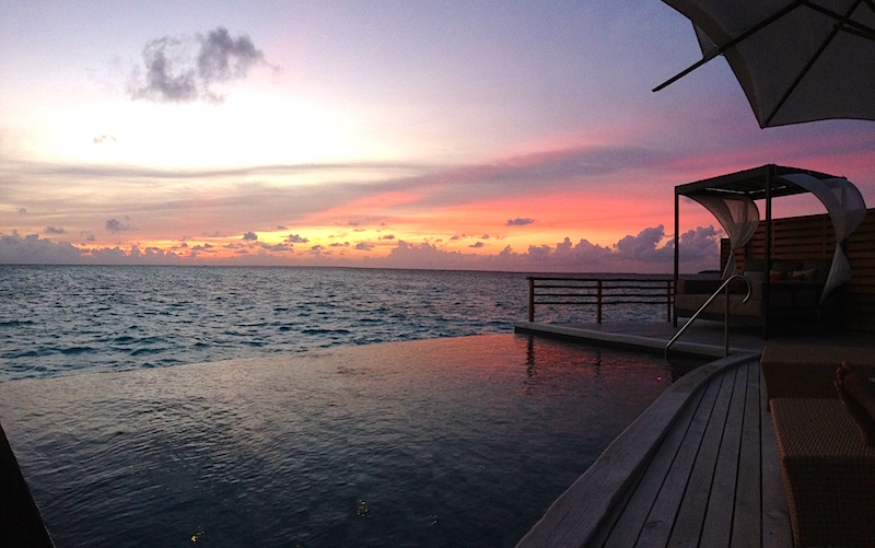 Baros Maldives Sunset
