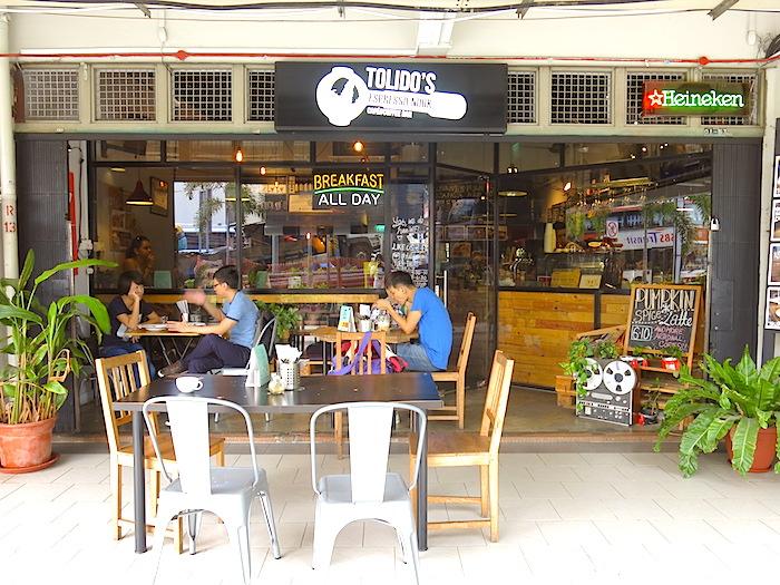 Tolido's Espresso Nook Entrance