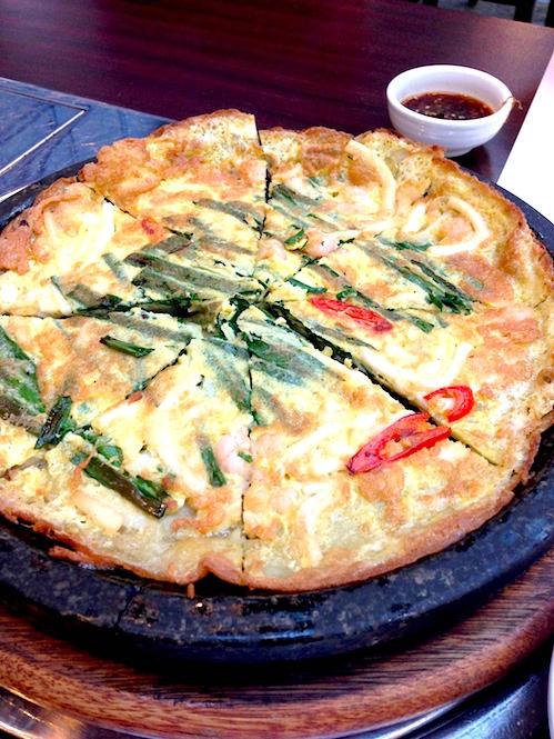 Gaia - Seafood Pancake