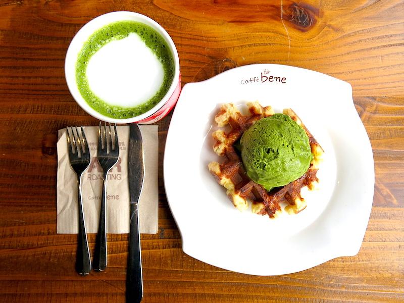 Caffe Bene Waffles