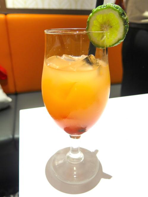 Kaffir & Lime Singapore - Lime & Blood Orange Cooler