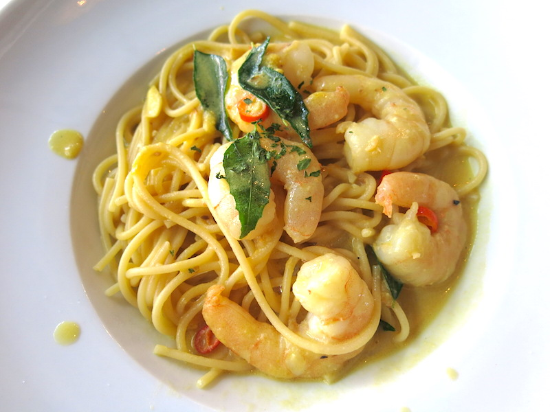 The Usual Place Singapore - Salted Egg Prawn Pasta