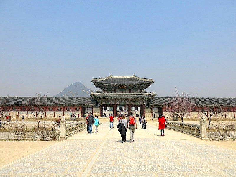 Gyeongbokgung Palace Entrance