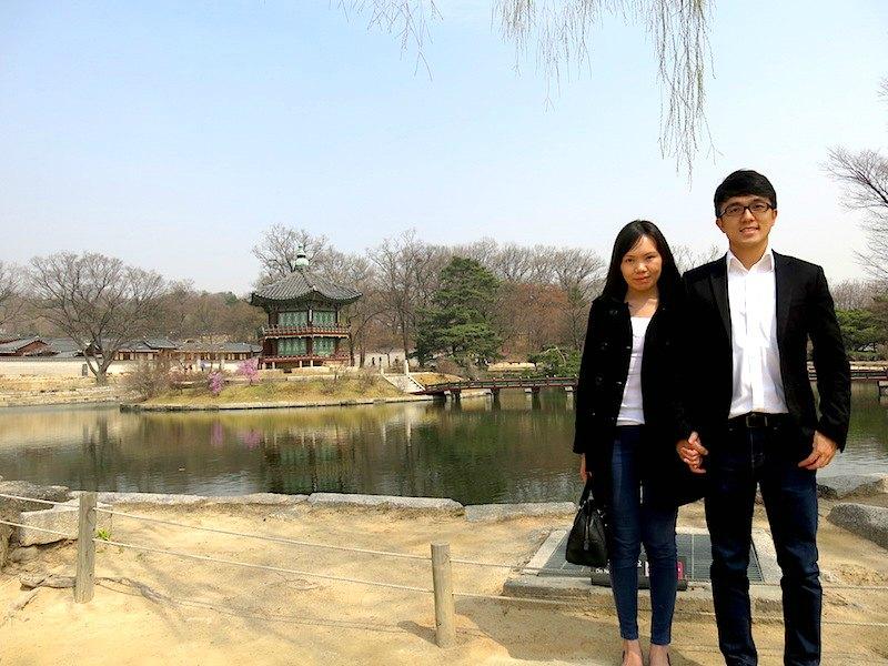 Gyeongbokgung Palace Evan and Raevian